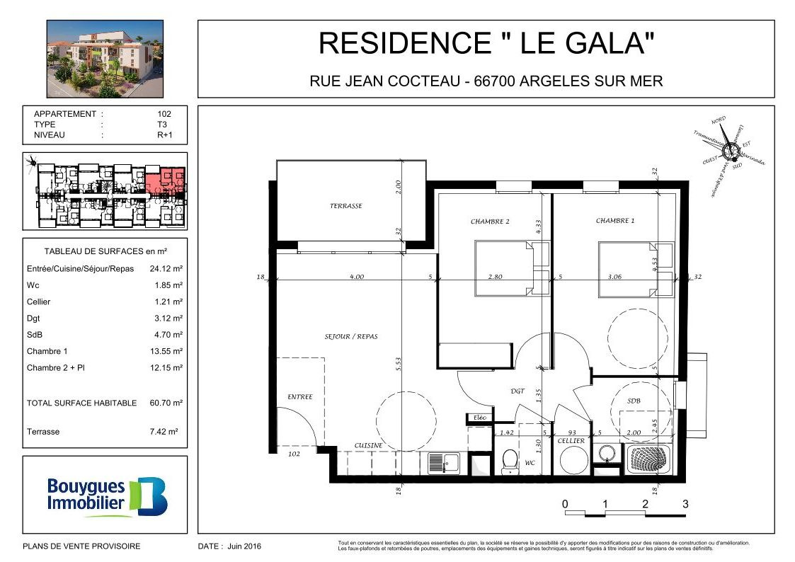 Offres programmes neufs argel s sur mer appartement t3 for Garage ford argeles sur mer